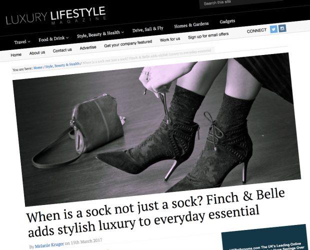 feature on luxury lifestyle magazine