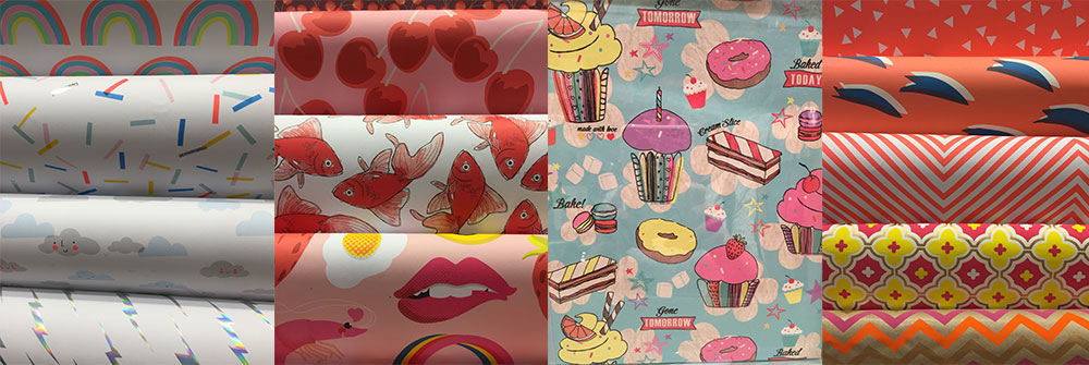 wrapping paper pattern designs