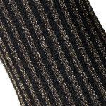 Gold Lurex Vertical Stripe